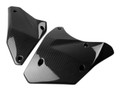 Bottom Engine Covers in Glossy Twill weave Carbon Fiber for Kawasaki H2