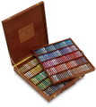 Sennelier Wooden Box with 250 Whole Pastels