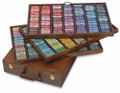 Sennelier Wooden Box with 525 Whole Pastels