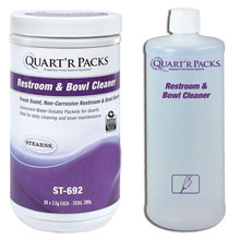 Quartr Packs Restroom and Bowl Cleaner Product with bottle