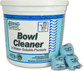 Water Flakes Dissolving Packets Bowl Cleaner Blue Tub