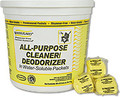 WATER FLAKES All Purpose Cleaner Deodorizer yellow tub