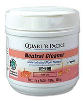 Quart'r Packs Neutral Cleaner bottle pic
