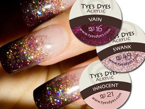 1 3oz Professional Glitter Acrylic Nail Mixes Each Mix Covers At Least 250 Designs Tyes Dyes Designer Color Powders Are All Pre Mixed With