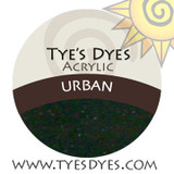 Urban A Super Dark Blackish Green Color Glitter Acrylic mix which is sure to add style !