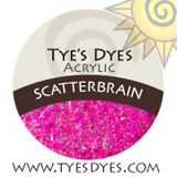 Scatterbrain designer glitter acrylic