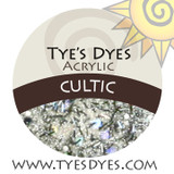 Cultic designer glow in the dark Halloween acrylic mix by Tye's Dyes