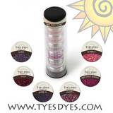 Burgundy, Cranberry, Dark Red, Wine, Maroon, Dark Fuschia Acrylic Glitter Nail Design Kit.