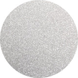 White Satin glitter for nails