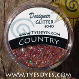 Country, a Golden Orange, Fuschia Pure Professional Glitter Mix just like momma use to make.