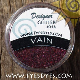 Vain, a dark wine colored Professional Pure Glitter Mix that is sure to satisfy!