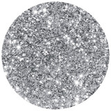 Silver Glitter by Young Nails