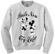Smile Now, Cry Later Crewneck