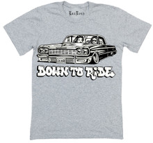 Down To Ride Tee (Grey)