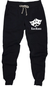 Lux Rosa Smile Now Cry Later Joggers