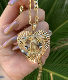Lupe's Big Heart Necklace