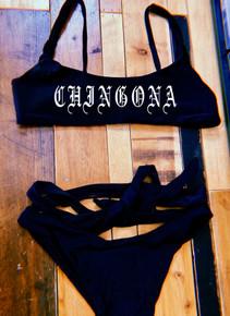 Chingona Wrap Bikini