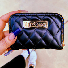 Lux Rosa Quilted Wallet
