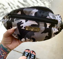 Lux Rosa Camo Fanny Pack