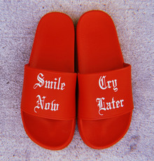 Smile Now, Cry Later Slides (RED)