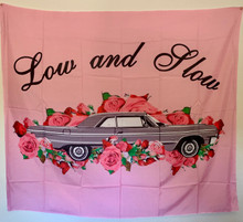 Low 'N Slow Pink Tapestry