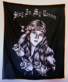 Stay In My Corner Wall Tapestry