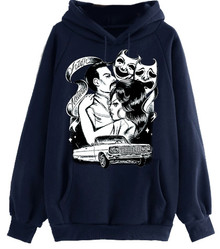 Natural High Navy Blue Hoodie (Limited Edition)