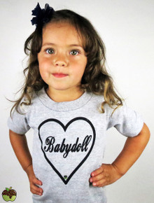 Apple Sauced Babydoll Toddler Tee
