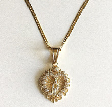 La Luz De Guadalupe Heart Necklace (18K Gold Filled)