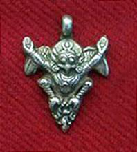 Silver Garuda Pendant