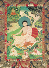 Milarepa Deity Card
