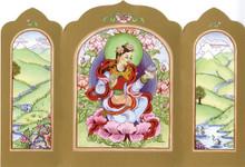 Yeshe Tsogyal - Traveling Altar Card