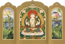 Avalokiteshvara (Chenrezig) - Traveling Altar Card
