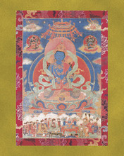 Dorje Chang (Vajradhara) - Large Deity Card