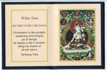 White Tara - Folding Thangka
