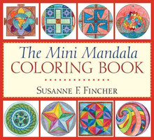 The Mini Mandala Coloring Book by Susanne F. Fincher