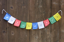 Mini Various Deity Prayer Flag