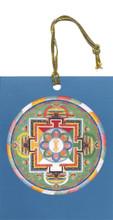 Akshobya (Balance and Healing) Hanging Mandala Card