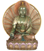 Medicine Buddha Medium Resin Statue