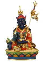 """Painted Orgyen Menla Statue 9.5"""""""