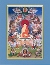 The Buddha's Enlightenment, Giclee Canvas Print