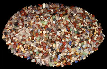 Semi-Precious Stone Chips for Mandala Offerings