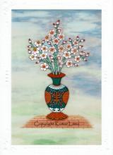 Spring Forever: Tibetan Life Card Print, by Kumar Lama