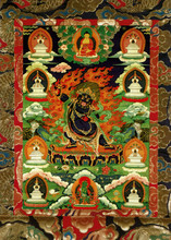 Vajrapani Deity Card