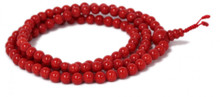 Red Glass Mala