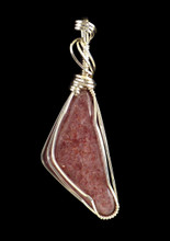 Pendant is 54mm long, including bail.