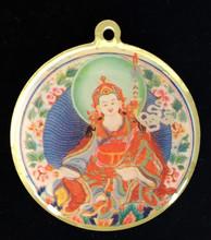 Guru Rinpoche Mantra Deity Medallion