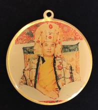 Karmapa Marpa Deity Medallion