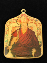 Minling Trichen / Terdak Lingpa Deity Medallion