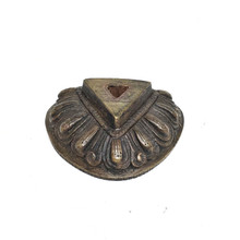 Metal Lotus Phurba Stand